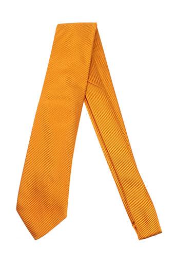 grege creation accessoires homme de couleur orange
