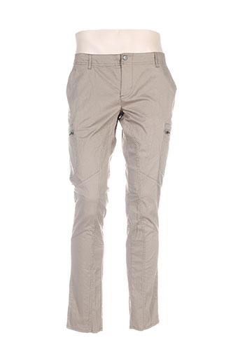 Pantalon casual vert CHRISTIAN AUDIGIER pour homme
