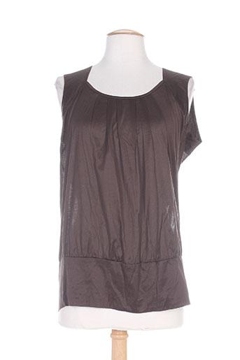caractere chemises femme de couleur marron