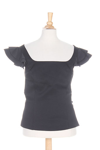 caractere chemises femme de couleur noir