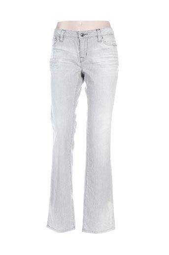 ed hardy jeans femme de couleur gris
