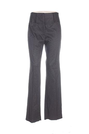 Pantalon casual noir CARACTERE pour femme