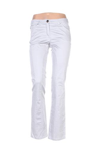 caractere pantalons femme de couleur gris