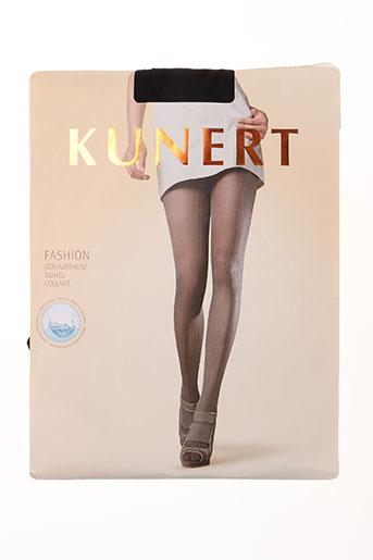 kunert lingerie femme de couleur noir
