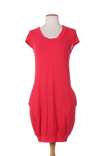 acqua et sale robes femme de couleur rouge