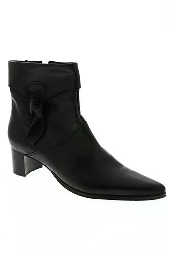 dos de dos chaussures femme de couleur noir