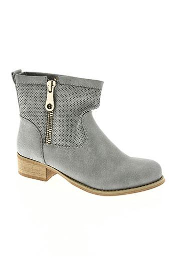 retroshoes chaussures femme de couleur gris