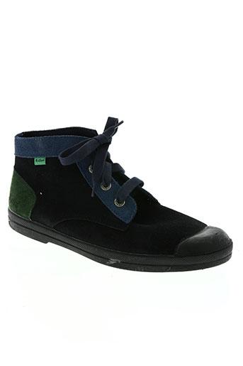 kickers chaussures femme de couleur bleu