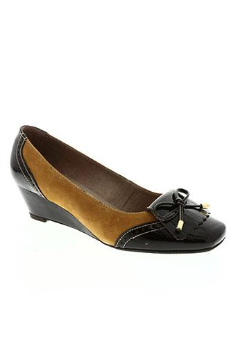 frank by co.desing chaussures femme de couleur marron