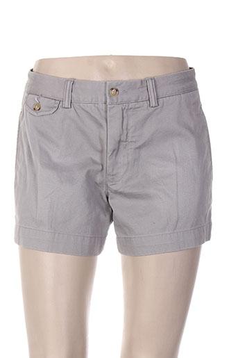 ralph lauren shorts / bermudas femme de couleur gris