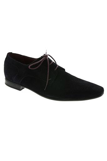 le formier chaussures homme de couleur bleu