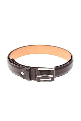 jl foures accessoires homme de couleur marron