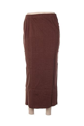 poles jupes femme de couleur marron