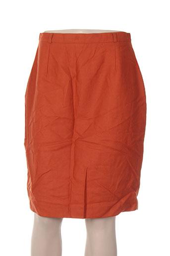 carole richard jupes femme de couleur orange