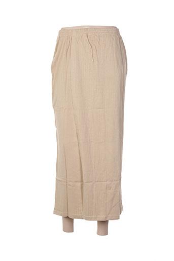poles jupes femme de couleur beige
