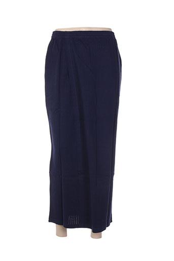 poles jupes femme de couleur bleu