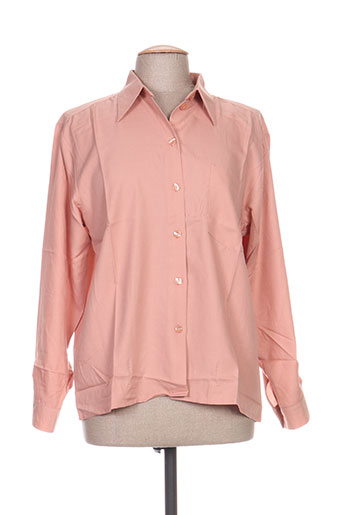 carole richard chemises femme de couleur rose