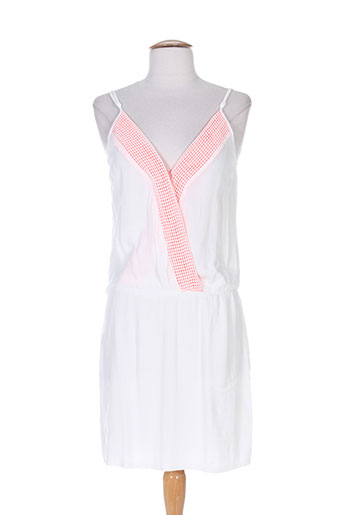 Robe courte blanc FREE MINDS.. pour femme