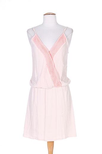 Robe courte rose FREE MINDS.. pour femme
