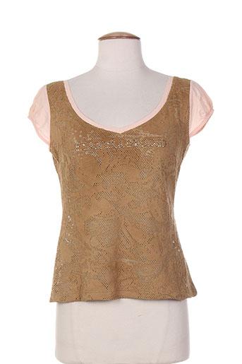 pianurastudio chemises femme de couleur marron