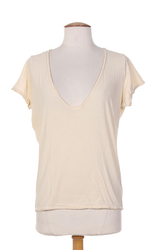 ralph lauren t-shirts femme de couleur beige