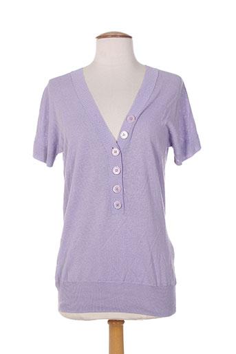 teenflo pulls femme de couleur violet