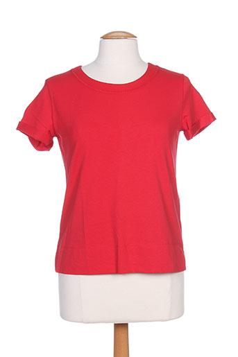 marella t-shirts femme de couleur rouge