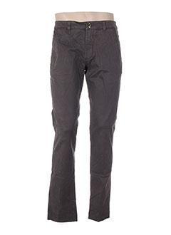 Pantalon casual marron FRADI pour homme