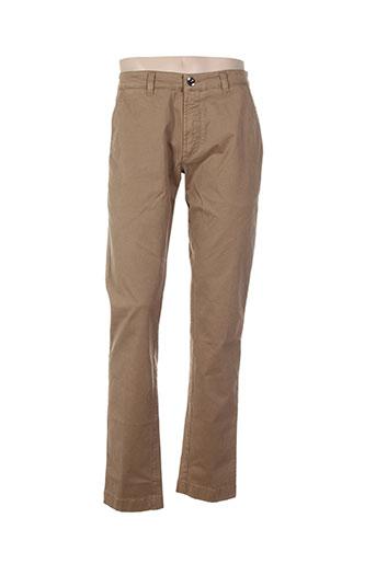 fradi pantalons homme de couleur beige