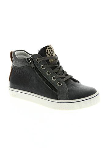 two side chaussures garçon de couleur gris