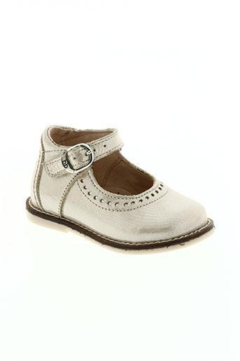 babybotte chaussures fille de couleur beige