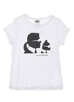 Produit-T-shirts-Enfant-KARL LAGERFELD