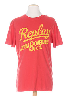 Produit-T-shirts-Homme-REPLAY
