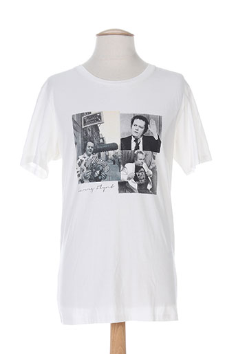 selected t-shirts homme de couleur blanc
