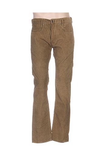 firetrap pantalons homme de couleur vert