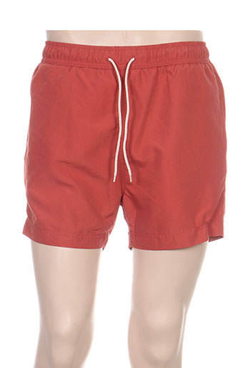 selected maillots de bain homme de couleur orange