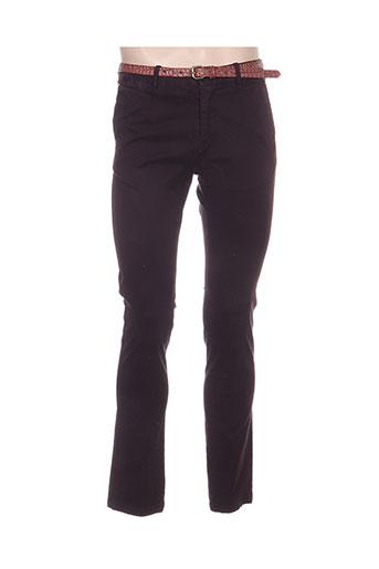 Pantalon casual violet SCOTCH & SODA pour homme