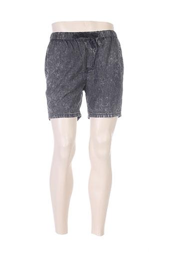 minimum shorts / bermudas homme de couleur noir