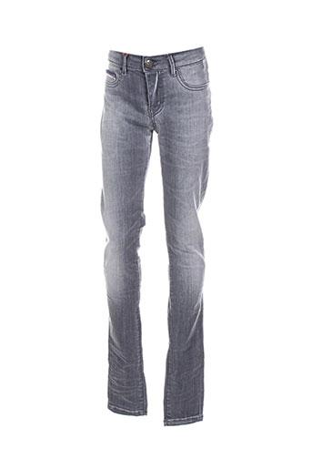 dn.sixty seven jeans femme de couleur gris