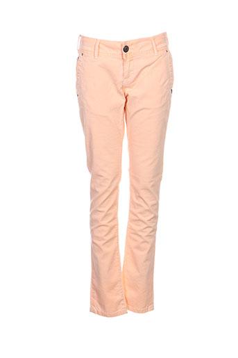 Pantalon casual orange DN.SIXTY SEVEN pour femme