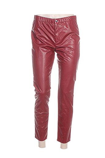 isabel marant pantalons femme de couleur rouge