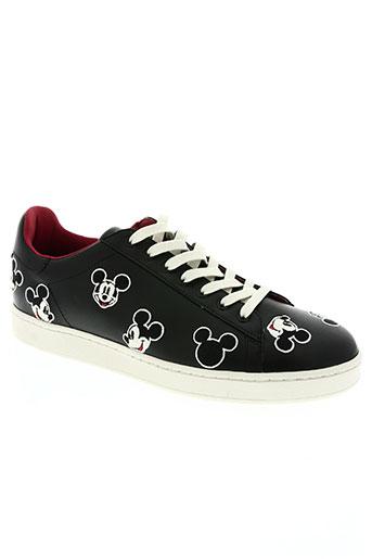 moa master of arts chaussures homme de couleur noir
