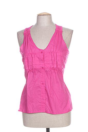 salt EFFI_CHAR_1 pepper chemises femme de couleur rose