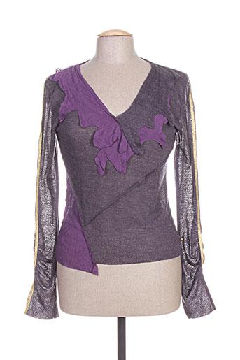 cheyenne pulls femme de couleur violet
