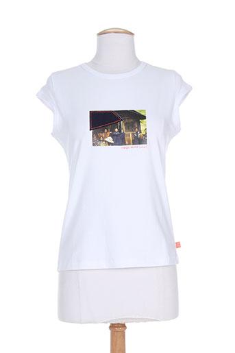 cheyenne t-shirts femme de couleur blanc