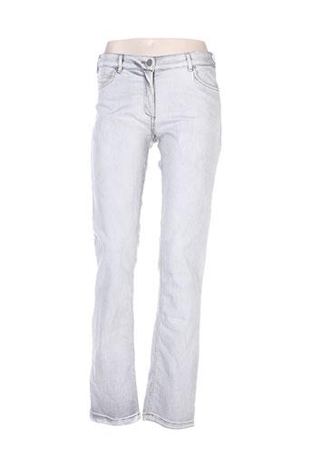 voodoo jeans femme de couleur gris