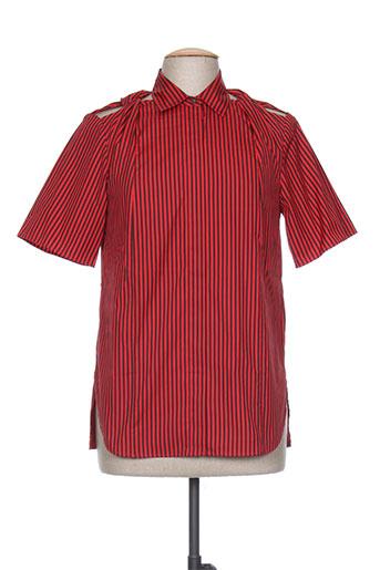 phillip lim chemises femme de couleur rouge