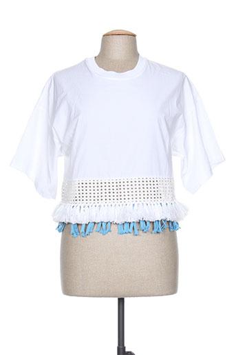 phillip lim chemises femme de couleur blanc