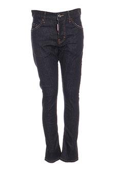 Jeans coupe slim bleu DSQUARED pour garçon