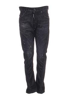 Jeans coupe slim noir DSQUARED pour garçon